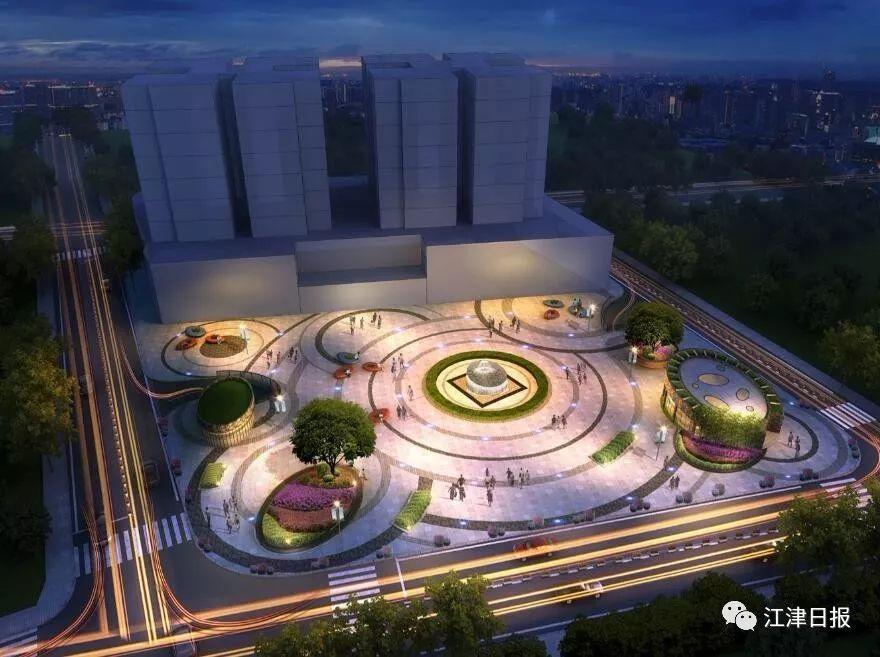 几江城区这个休闲广场&地下停车库即将开建!看看在哪? ..