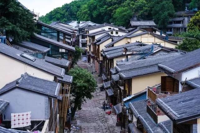国庆正式开放的黄桷垭老街或成南岸新打卡地?