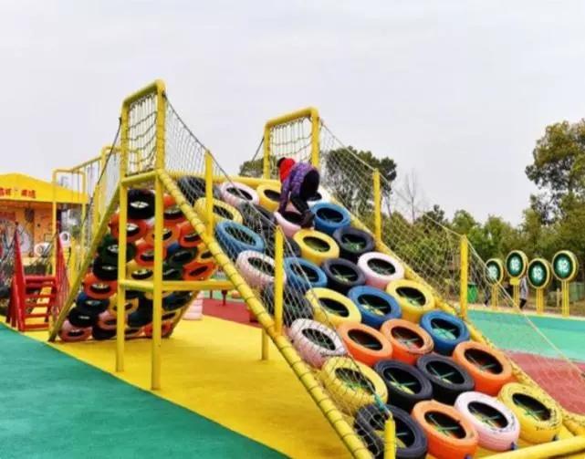 国庆重庆汉海千平米轮胎乐园全新免费开放 抢购超值家庭套票
